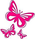 Pink Butterfly Vinyl Stickers decals,car,window,van