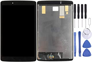 Wangl LG Spare LCD Screen and Digitizer Full Assembly for LG G Pad 8.0 / V490 / V480(Black) LG Spare (Color : Black)