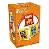 Delicious oven baked classics from the Keebler Elves and the Cheez It kitchens; Enjoy a sweet and crumbly cookie treat with either chocolate chips or fudge drizzles, or crispy real cheese crackers Your choice of a trio of crunchy chocolate chip cooki...