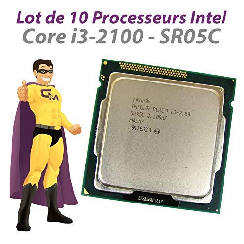 Intel CPU Core I3-2100 3,1 GHz 3 MB SR05C FCLGA1155 Dual Core 10 Stück