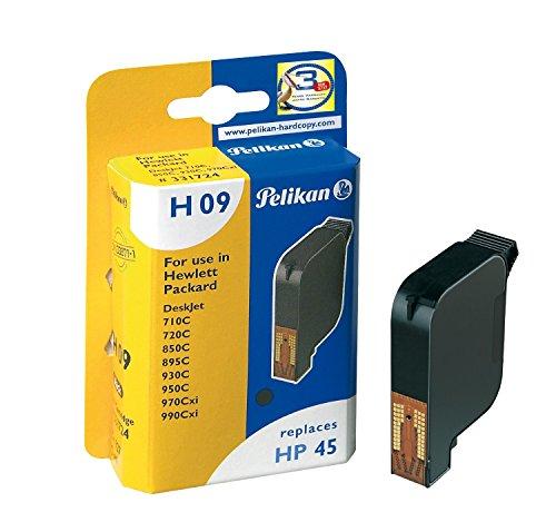Pelikan H09 - Druckerpatrone (ersetzt HP 45) - 1 x Schwarz