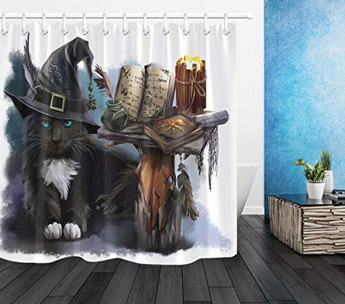 cortinas ducha gatos