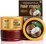 Glamorous Hub WOW Skin Science Mascarilla para el cabello con leche de coco con leche de coco 200 ml (el embalaje puede variar)