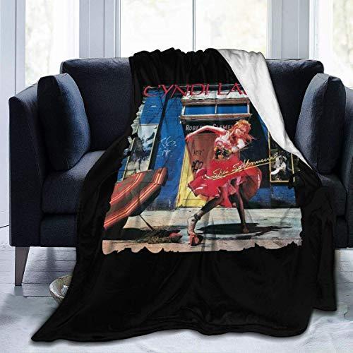 Shichangwei Manta para sofá o silla, mantel Cyndi Lauper