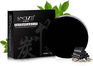 PanDaDa 40g Handmade Bamboo Charcoal Whitening Soap Acne Treatment Oil-Control Blackhead Pores Remover Skin Care