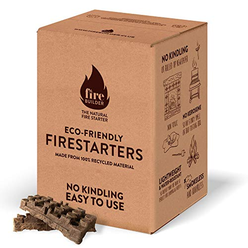Natural Firelighters For Wood Burners and Open Fires. No Kindling or Wrapped Up Newspaper Required. Smokeless and Odorless.