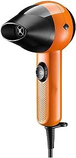 Sgxpjj Secador de Pelo Potente Ionico Viaje Boquilla Concentradora de Aire, 2 Velocidades/temperaturas, 800 W (Color : Brown)