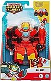 Playskool Heroes Transformers Rescue Bots Academy Hot Shot Robot de Juguete de conversión de 6 Pulgadas, Figura de acción Coleccionable para niños a Partir de 3 años