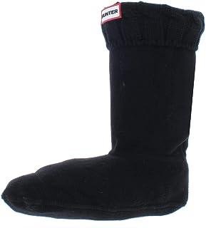 HUNTER, Calcetines Hunter cortos de forro polar Negro negro