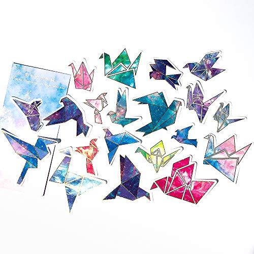Origami Sticker Set