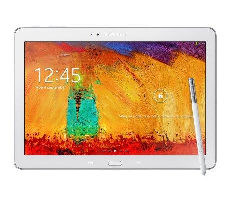Samsung Galaxy Note 10.1 2014 Edition Tablet (25,7 cm (10,1 Zoll) Touchscreen, 3GB RAM, 8 Megapixel Kamera, 32 GB interner Speicher, WiFi, Android 4.3) weiß  Europäische Version