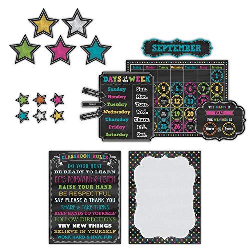 Teacher Created Resources Chalkboard Brights Classroom Kit (32402) Photo #2
