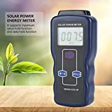 Medidor de energía solar digital, Medidor de energía solar digital de mano (piranómetro), Instrumento de prueba de medición de radiación de luz solar, Medidor de energía solar por radiación