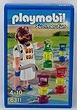 Playmobil 6311 - Muñeco de chef de barbacoa con juego de mesa
