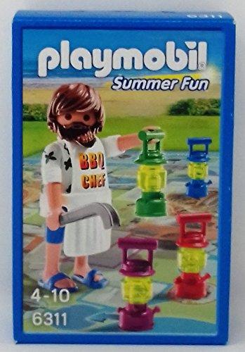 Playmobil 6311 Summerfun BBQ Chef mit Brettspiel