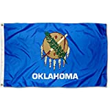 Sports Flags Pennants Company State of Oklahoma Flag 3x5 Foot Banner