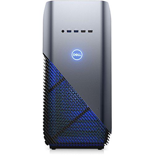 Dell Inspiron 5680 Gaming Desktop - 8th Gen. Intel Core i7-8700 6-Core up to 4.60 GHz, 16GB DDR4 Memory, 256GB SSD + 1TB SATA Hard Drive, 8GB Nvidia GeForce GTX 1070, Windows 10 Pro, Recon Blue