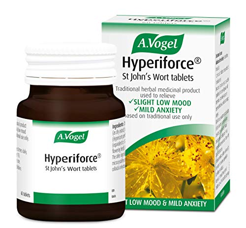 A.Vogel Hyperiforce St John's Wort Tablets - Relieves the Symptoms of Slightly Low Mood and Mild Anxiety - 60 tablets