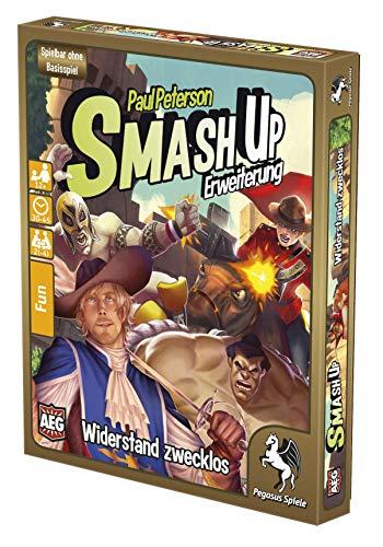 Pegasus Spiele 17279G - Smash Up: Widerstand zwecklos