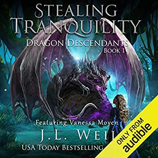 Dragon Descendants 1: Stealing Tranquility audiobook cover art
