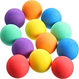 24 Pieces Soft Foam Balls Assorted Play Balls Mini Sponge Balls Sponge Lightweight Play Ball for Crafts Birthday Party Favors Bag Gifts Fillers