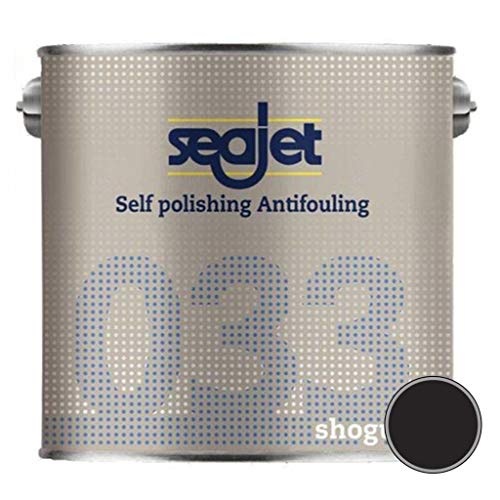 Seajet 033 Shogun selbstpolierendes Antifouling schwarz 2500ml