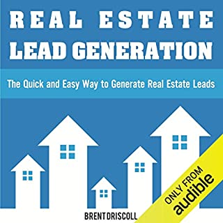 Real Estate Lead Generation audiobook cover art