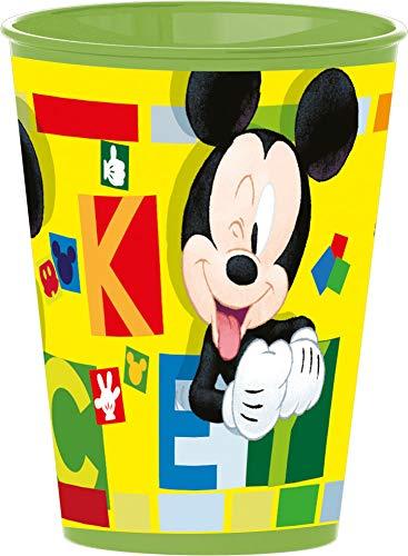 4 Stück Disney Micky Maus Trinkbecher Saftbecher Becher Set Mickey Mouse