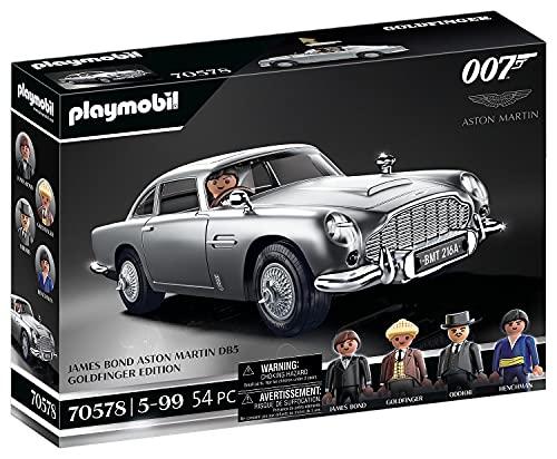 PLAYMOBIL 70578 JAMES BOND ASTON MARTIN DB5 - GOLDFINGER EDITION, Für James-Bond-Fans, Sammler und Kinder von 5-99 Jahren