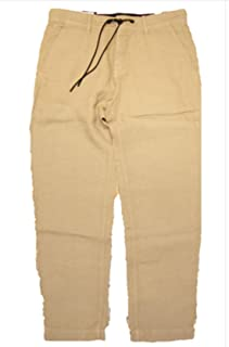 boss linen trousers