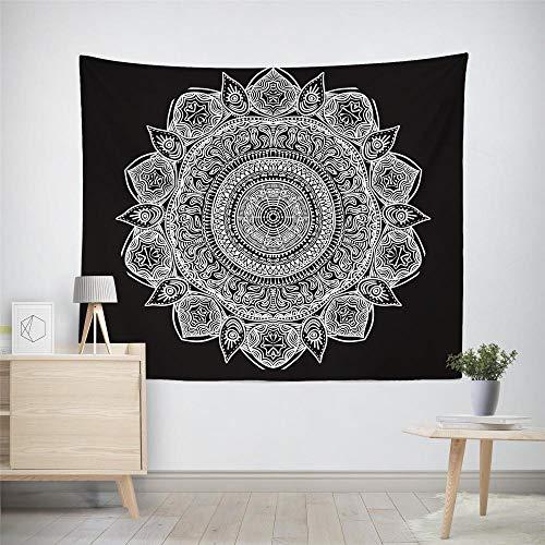 Tapiz de pared de mandala indio, gran mantel, dormitorio, sala de estar, decoración de dormitorio, tapices para colgar en la pared, mandala XL/150 cm x 150 cm