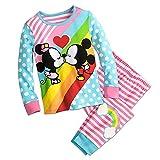 Disney Mickey and Minnie Mouse Kiss PJ PALS Pajamas Size 3
