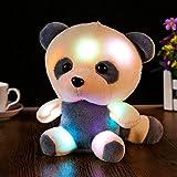 Juguete de Peluche Nuevo 25-30cm Gran Lindo Oso Led Panda Que Brilla En La Oscuridad Muñeca De Peluc...