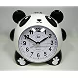 目覚まし時計 置時計 パンダ 電子ベル メロディー ライト付き おまけ付き Compas