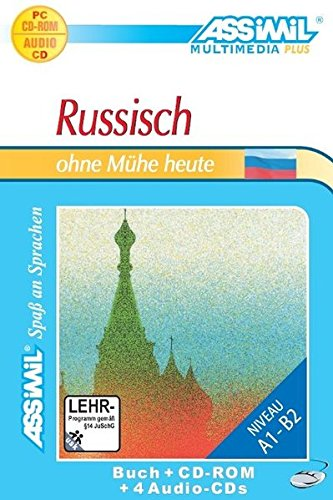 Russisch ohne Mhe heute. Multimedia-PC. Lehrbuch mit 4 Audio-CDs + CD-ROM [import allemand]