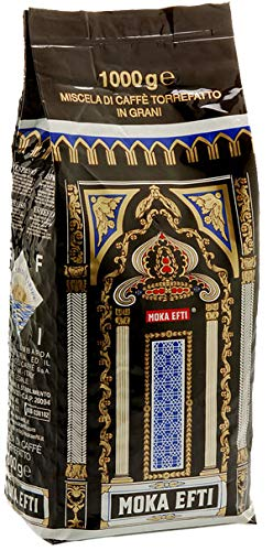 Moka Efti Extra Bar, Bohne, 1er Pack (1 x 1 kg)