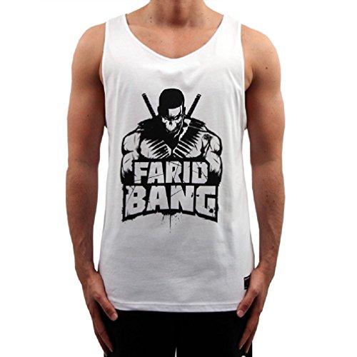 Farid Bang Tanktop Logo Weiss (XXL)
