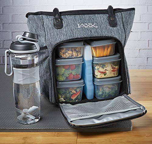 Fit & Fresh JAXX FitPak Meal Prep Lunch Bag with