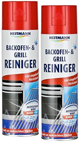 Heitmann 2X Limpiador para hornos y Parrillas...