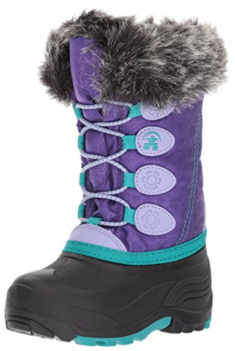 Kamik Kids' Snowgypsy Snow Boot, Purple, 10 Medium US Toddler