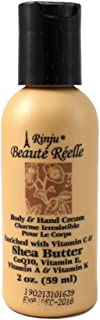 Rinju Beaute Reelle Body & Hand Cream with Shea Butter 2 oz.