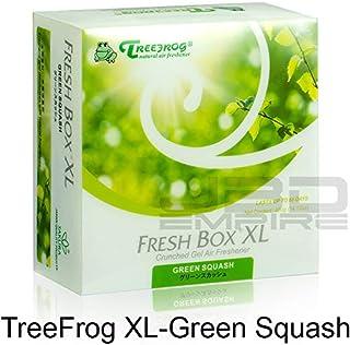 JBD Empire Treefrog Xtreme Fresh Box XL Air Freshener Scent Extra Large 400g - Black Squash/Blue Squash/Green Squash/White Peach/New Car (Green Squash)