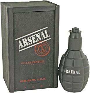 Gilles Cantuel Arsenal Black - Eau de Parfum Spray 3.4 oz Arsenal Black por Gilles Cantuel - Eau