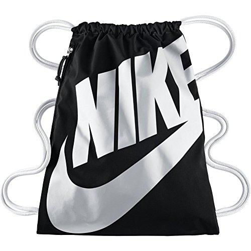 Nike Heritage Gymbag Gymsack Turnbeutel BA5351 (Black/White)