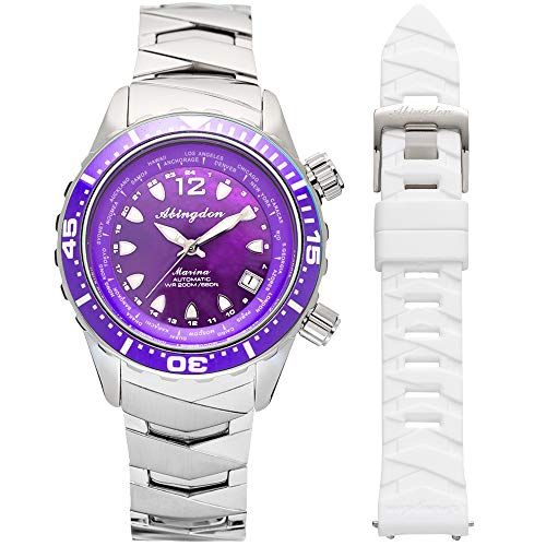 """The Abingdon Co. """"Marina"""" Womens Diving Watch 