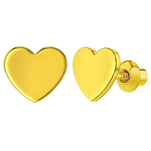 Baby Earrings With Safety Backs Amazon Com