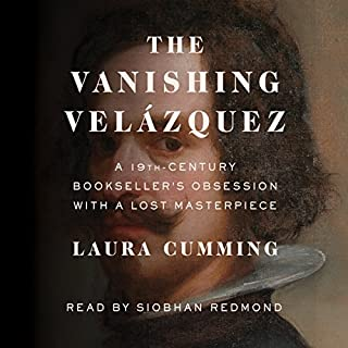The Vanishing Velázquez audiobook cover art