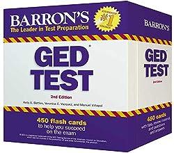 Barron's GED Test 450 Flash Cards