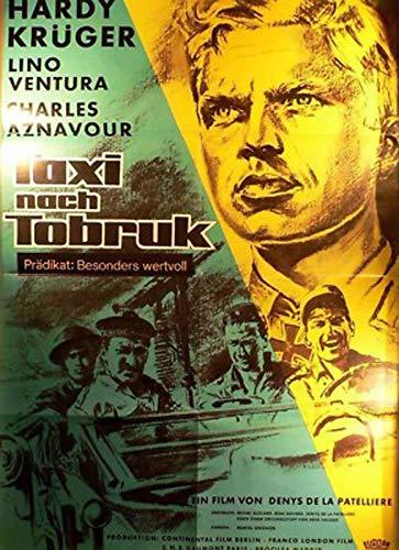 Taxi nach Tobruk - Hardy Krüger - Filmposter A1 84x60cm gefaltet (2)