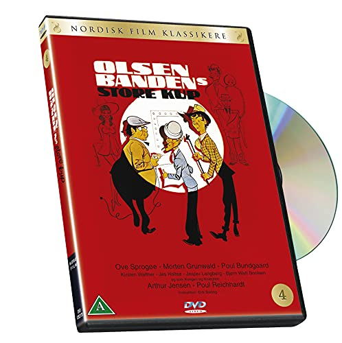 NORDISK FILM Olsen Banden 4 - Store kup - DVD